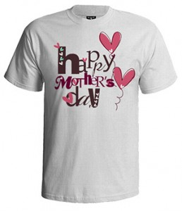 تی شرت مادر طرح تبریک روز مادر
