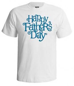 تی شرت روز پدر طرح فانتزی happy father day