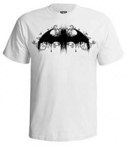 تی شرت بتمن طرح batman logo