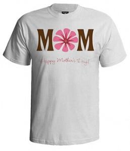 تی شرت روز مادر طرح mom happy mother day
