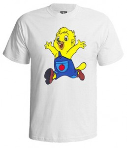 تی شرت نوستالژی طرح پسر شجاع