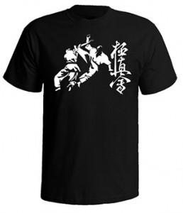 تی شرت کیوکوشین کاراته طرح kyokushin