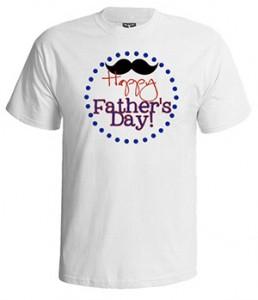 تی شرت روز پدر طرح happy father s day