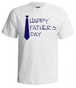 تی شرت پدر طرح happy father day