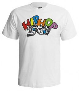 تی شرت هیپ هاپ طرح hip hop shoes