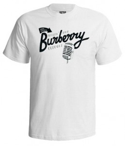 تی شرت هیپ هاپ طرح burberry