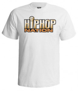 تی شرت هیپ هاپ طرح hip hop nation