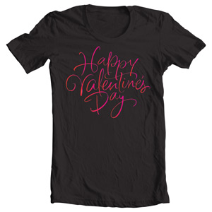 خرید تی شرت ولنتاین