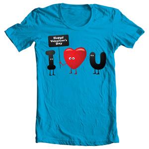 تی شرت روز ولنتاین