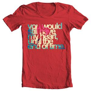 تی شرت ولنتاین