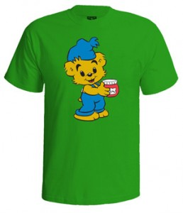 تی شرت نوستالژیک طرح بامزی