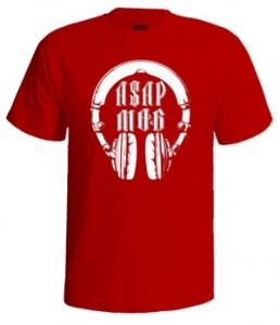 تی شرت هیپ هاپ طرح asap mob