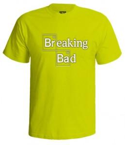 تی شرت برکینگ بد طرح heisenburg logo