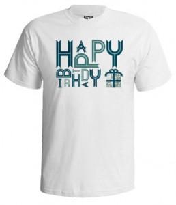 تی شرت روز تولد طرح surprise