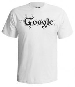 تی شرت طرح گوگل black metal