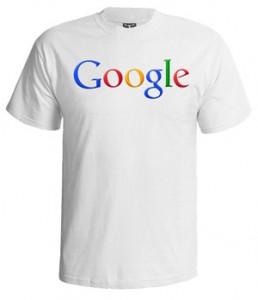 تی شرت گوگل طرح google logo