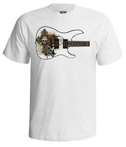 تی شرت ابزار موسیقی گیتار الکترونیک