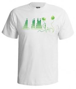 تی شرت اکولایزر جدید طرح green equalizer