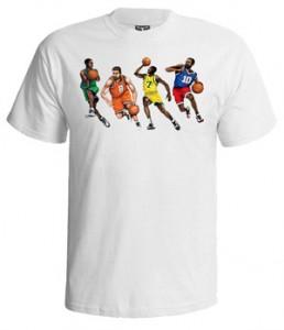 تی شرت بسکتبال طرح players