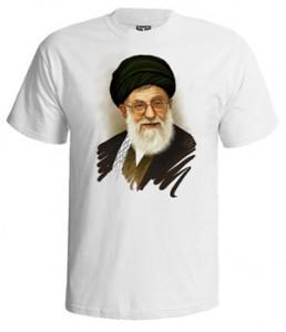 تی شرت رهبری طرح پرتره