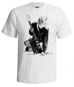 تی شرت نیروانا طرح kurt cobain