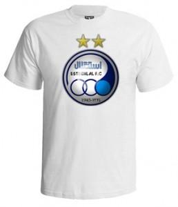 تی شرت استقلال لوگو
