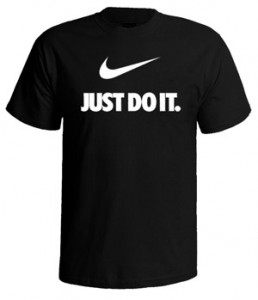 تی شرت نایک طرح nike just do it