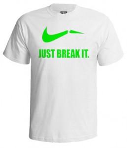 تی شرت نایک طرح funny nike