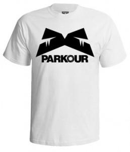 تی شرت پارکور طرح parkour logo