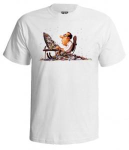 تی شرت کامپیوتری طرح programmer living