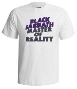 تی شرت بلک ثبث طرح master of reality