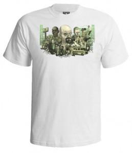 تی شرت بریکینگ بد طرح breaking bad graffiti