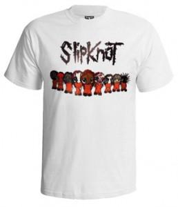 تی شرت slipknot طرح chibi slipknot