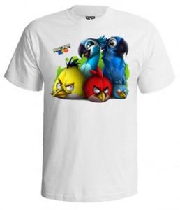 تی شرت انگری برد طرح rio