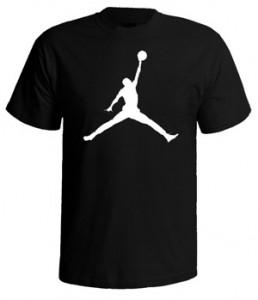 تی شرت بسکتبال طرح jumpman