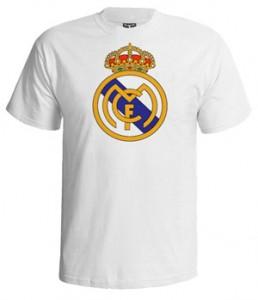 تی شرت رئال مادرید طرح logo