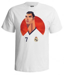 تی شرت رونالدو caricature