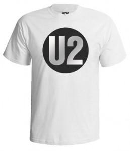 تی شرت یوتو طرح u2 logo
