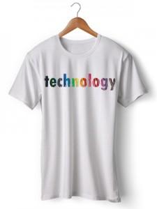 تی شرت تکنولوژی طرح technology