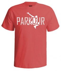 تی شرت پارکور طرح orginal parkour logo