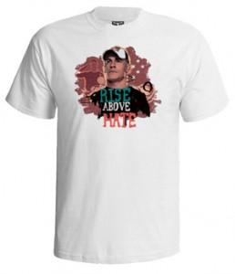 تی شرت جان سینا طرح rise above hate