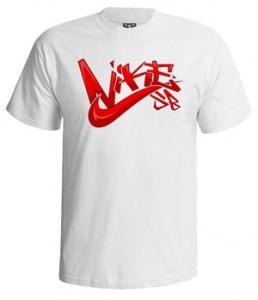 تی شرت نایک طرح nike graffiti
