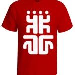 تی شرت حصین طرح علامت کاغذ