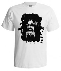 تی شرت بلک ثبث طرح self titled