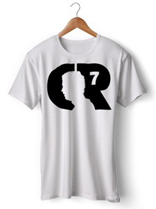 تی شرت رونالدو طرح cr7