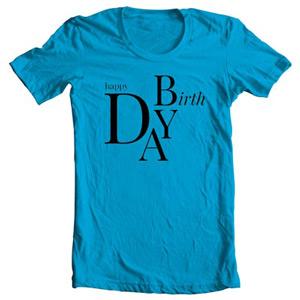 تی شرت مناسبتی تولد