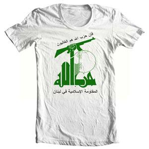 تی شرت حزب الله طرح لوگو