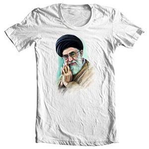 تی شرت با تصویر رهبر