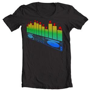 تی شرت led