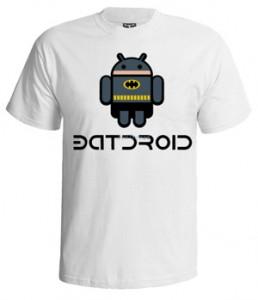 تی شرت اندروید طرح android character
